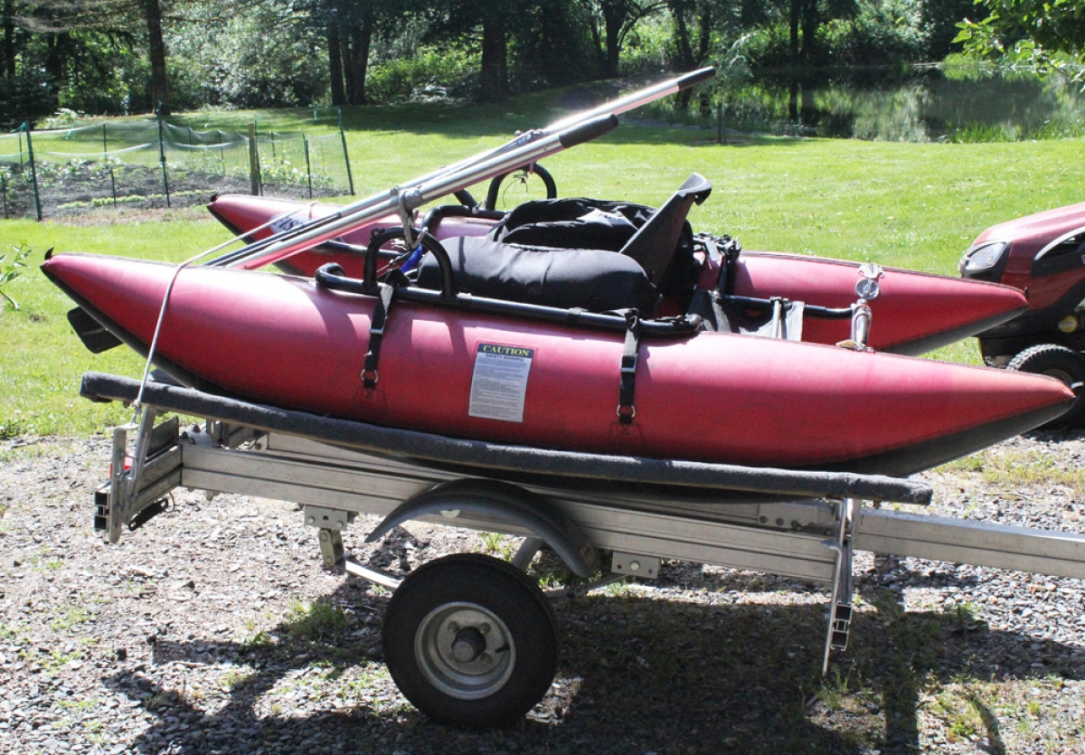 Trailers for fly fishing pontoon boats edmonton