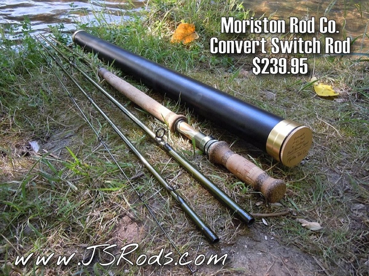 Moriston convert switch rod fly fishing rods fly fishing for Fly fishing rods for sale