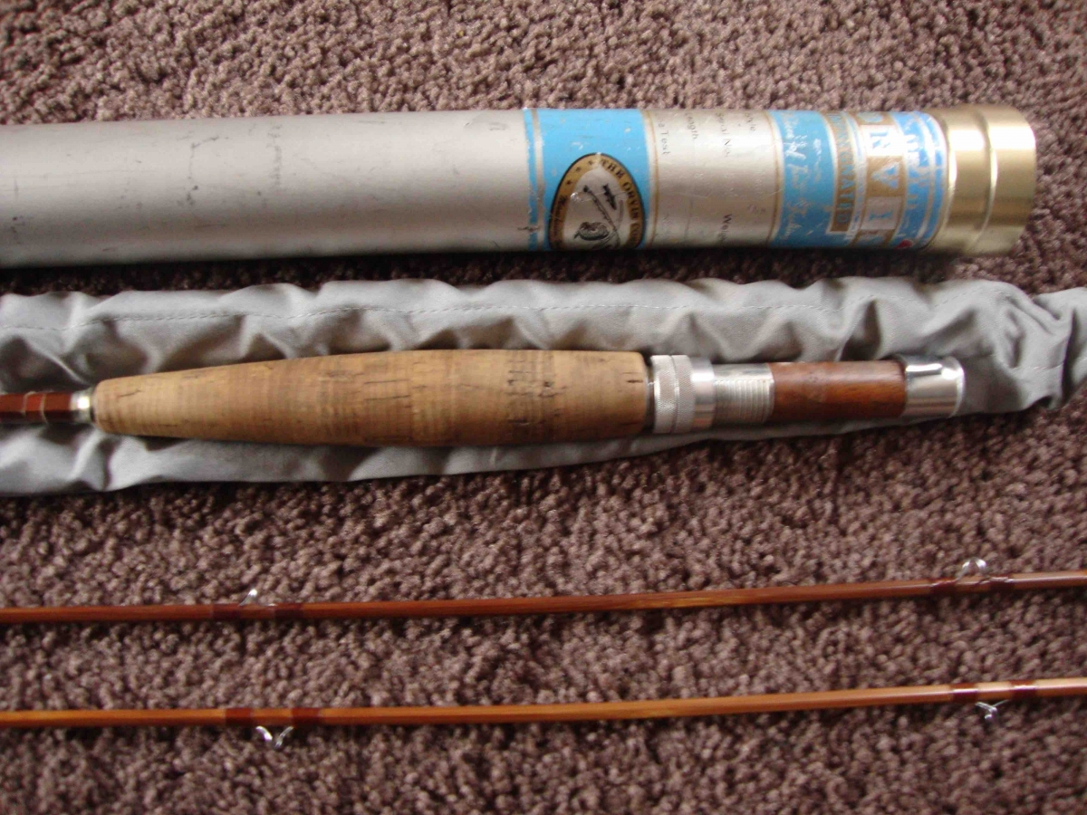 Orvis impregnated madison 8 39 two section fly rod fly for Fly fishing rods for sale